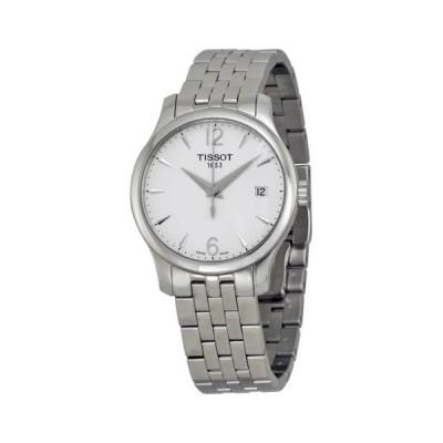 ティソ Tradition シルバー ダイヤル ステンレス スチール レディース 腕時計 T0632101103700