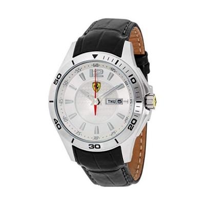 Ferrari Scuderia Quartz Movement Silver Dial Men's Watch 830092 並行輸入品