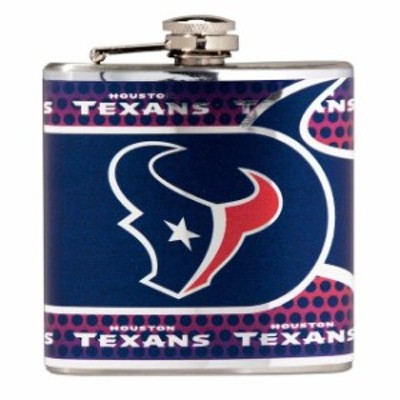 Great American Products ゲット アメリカン プロダクツ スポーツ用品  Houston Texans Silver 6oz. Stainless Steel