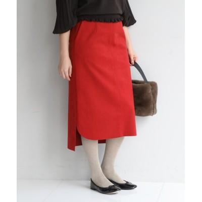 anatelier / スエード調タイトスカート WOMEN スカート > スカート