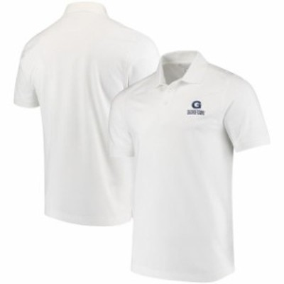 Cutter & Buck カッター アンド バック スポーツ用品  Cutter & Buck Georgetown Hoyas White Collegiate Advantage Dry