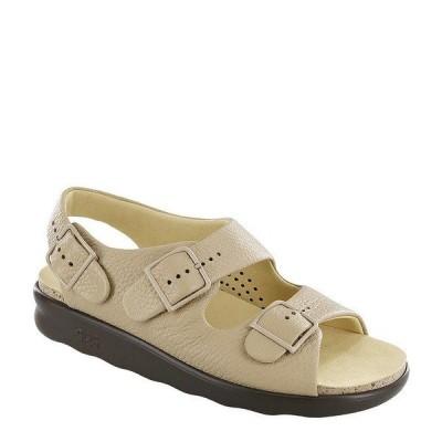 エスエーエス レディース サンダル シューズ Relaxed Leather Sandals Natural