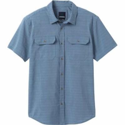 プラーナ Prana メンズ 半袖シャツ トップス Cayman Shirt - Tall Blue Note