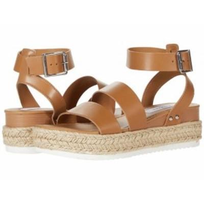Steve Madden スティーブマデン レディース 女性用 シューズ 靴 ヒール Codes Wedge Sandal Natural Leather【送料無料】