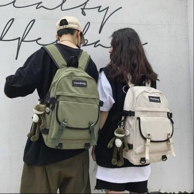 リュック メンズバッグ 韓国風 カジュアル 女の子 男女兼用 通勤 レディース マザーズ 通学 リュックサック キャンバスリュック プレゼント 鞄 可愛い 大容量