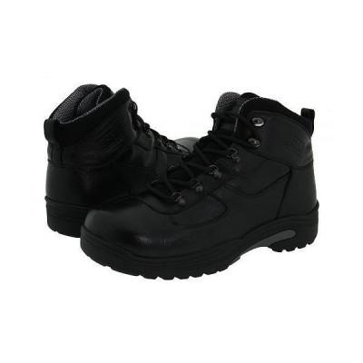 Drew ドリュー メンズ 男性用 シューズ 靴 ブーツ 安全靴 ワーカーブーツ Rockford Waterproof Boot - Black Tumbled Leather