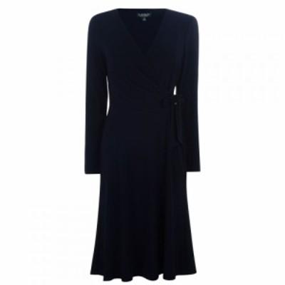 ラルフ ローレン Lauren Ralph Lauren Occasion レディース ワンピース ワンピース・ドレス Coreen Long Sleeve Dress Navy