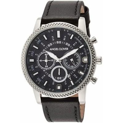 [エンジェルクローバー] 腕時計 Ridge ブラック文字盤 RD44SBK-BK メンズ  (中古品)