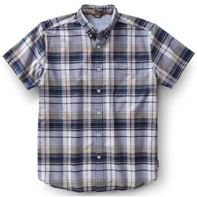 ロイヤルロビンズ メンズ シャツ トップス Royal Robbins Men's Go Everywhere Oxford Plaid SS Shirt