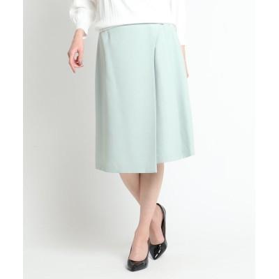 SunaUna(スーナウーナ) アシンメトリーラップスカート