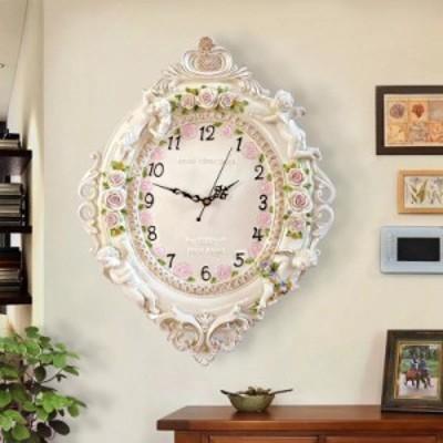 クロック。壁掛け時計 かけ時計 姫系雑貨