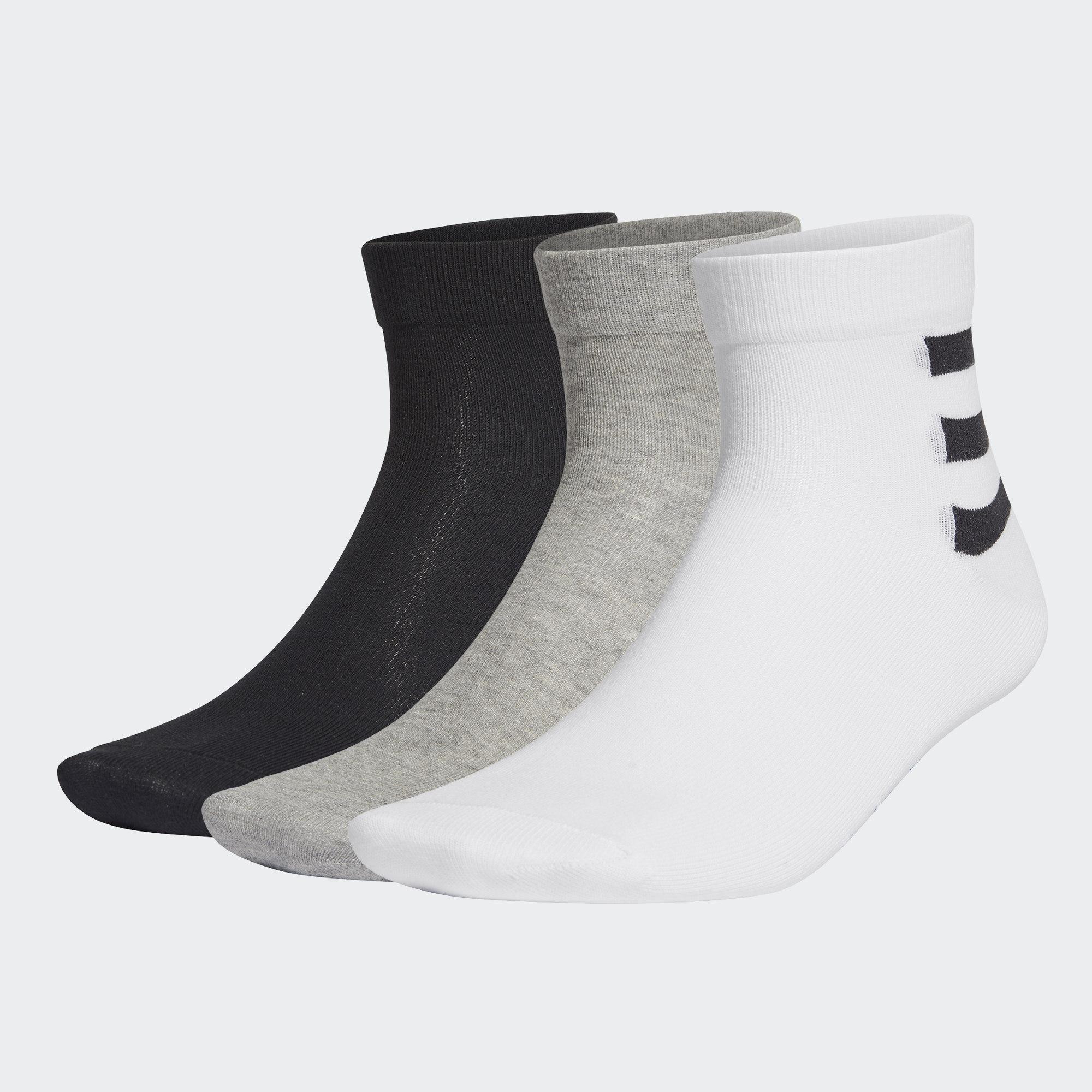 3-Stripes 腳踝襪 3 雙入