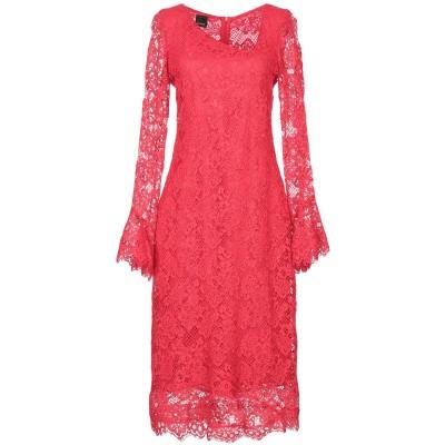 ピンコ PINKO 7分丈ワンピース・ドレス レッド 38 コットン 98% / ナイロン 2% 7分丈ワンピース・ドレス