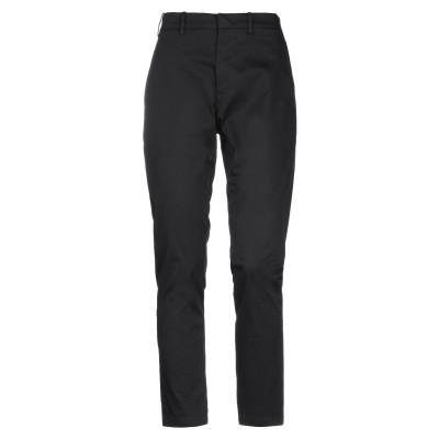 ヌメロ ヴェントゥーノ N°21 パンツ ブラック 38 コットン 97% / ポリウレタン 3% パンツ
