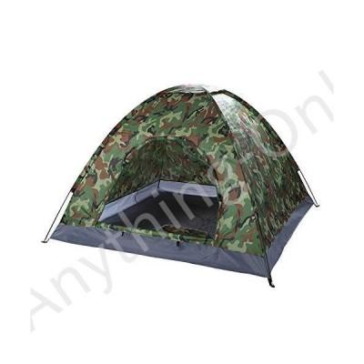 【新品】Camouflage Camping Tent for 3 to 4 Person Instant Setup Double Layer Waterproof Pop Up Tents Sun Shade for 3-4 People Family Out