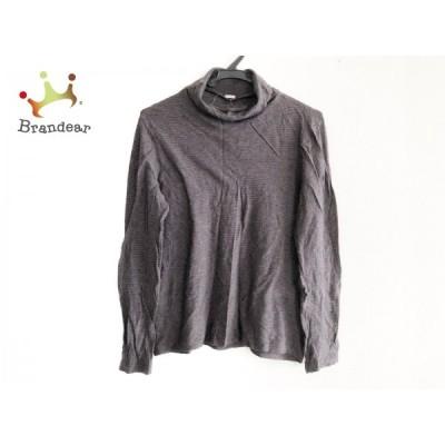 マーガレットハウエル MargaretHowell 長袖セーター サイズF レディース - グレー×ダークグレー  値下げ 20210219