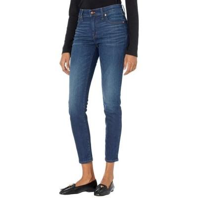 """メイドウェル レディース デニムパンツ ボトムス 8"""" Skinny Skinny Jeans in Dark Indigo"""
