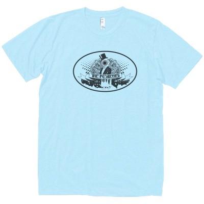 ザ・レジデンツ  The Residents 音楽・ロック・シネマ Tシャツ 水色