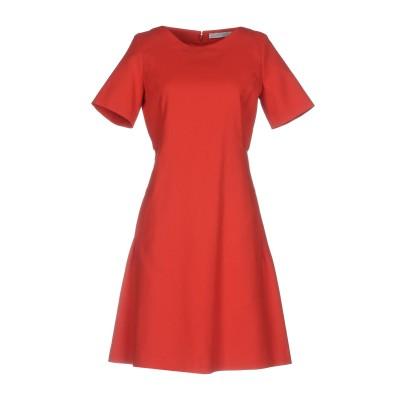 ファビアナフィリッピ FABIANA FILIPPI ミニワンピース&ドレス コーラル 40 100% コットン ミニワンピース&ドレス