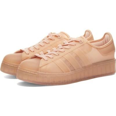 アディダス Adidas メンズ スニーカー シューズ・靴 superstar bold Peach