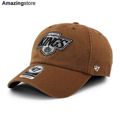 47ブランド カーハート ロサンゼルス キングス 【CARHARTT NHL CLEAN UP STRAPBACK CAP/BROWN】 47BRAND LOS ANGELES KINGS