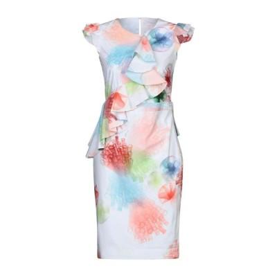GENNY チューブドレス  レディースファッション  ドレス、ブライダル  パーティドレス ホワイト