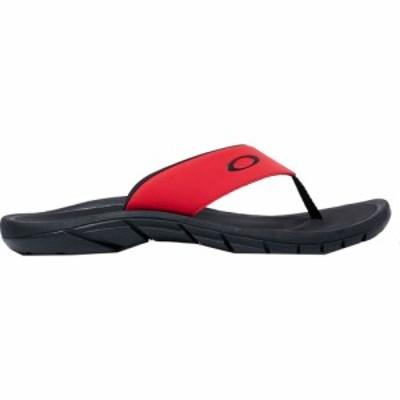オークリー Oakley メンズ ビーチサンダル シューズ・靴 Super Coil 2.0 Flip Flops Red
