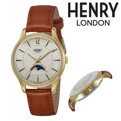 ヘンリーロンドン 腕時計 HERITAGE HL34-LS-0434 メンズ レディース HENRYLONDON ステンレススチール アクリルガラス 本革
