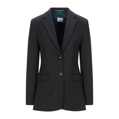 メルシー ..,MERCI テーラードジャケット ブラック 44 ポリエステル 54% / ウール 44% / ポリウレタン 2% テーラードジャケ
