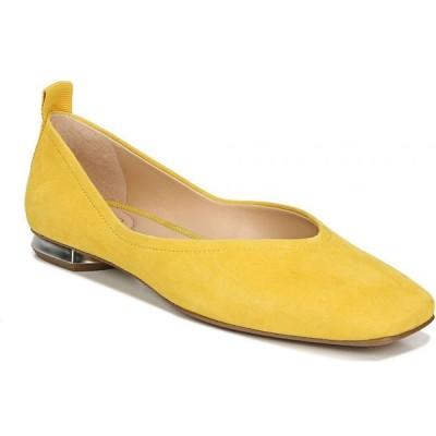 フランコサルト Franco Sarto レディース スリッポン・フラット シューズ・靴 Ailee Flats Yellow Suede