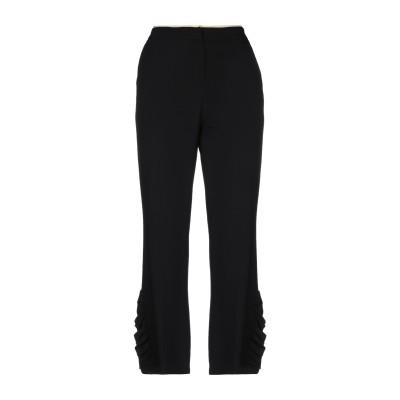 ヌメロ ヴェントゥーノ N°21 パンツ ブラック 40 レーヨン 96% / ポリウレタン 4% パンツ
