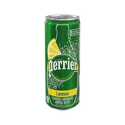 ペリエ (Perrier) レモン 炭酸水 缶 250ml 「直輸入品] ×30本
