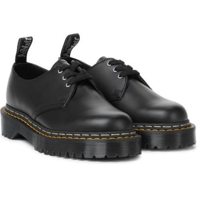リック オウエンス Rick Owens レディース ローファー・オックスフォード ダービーシューズ シューズ・靴 x Doc Marten Bex leather Derby shoes Black