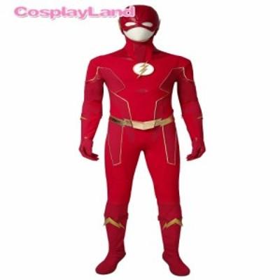 高品質 高級コスプレ衣装 ザ・フラッシュ 風 オーダーメイド コスチューム The Flash Season 6 Costume Barry Allen Cosplay