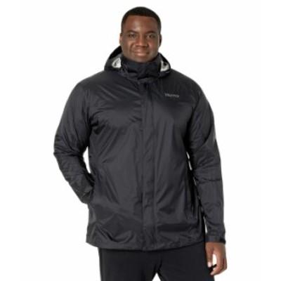 マーモット メンズ コート アウター Big & Tall PreCip Eco Jacket Black