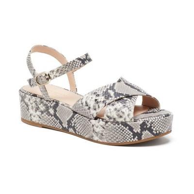 ケイト スペード サンダル シューズ レディース Women's Bunton Wedge Sandals Gray