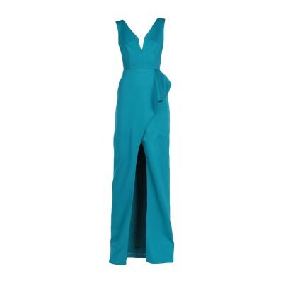 BLACK HALO EVE by LAUREL BERMAN ロングワンピース&ドレス ディープジェード 4 ナイロン 86% / ポリウレタン