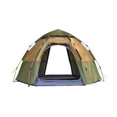 CAMPLEADER Automatic Tent Outdoor 5-8 People hex Automatic Tent Family Double Thick Rainproof Wild Camping