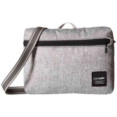 パックセーフ Pacsafe レディース ショルダーバッグ バッグ Slingsafe LX50 Anti-Theft Mini Crossbody Bag Tweed Grey