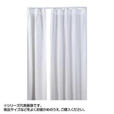 代引き不可 ※受注生産 ミラー省エネ防炎レースカーテン ホワイト 約幅100×丈148cm 2枚組   4549081705801