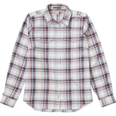 エクスオフィシオ レディース シャツ トップス ExOfficio Women's Madison Midweight Flannel LS Shirt