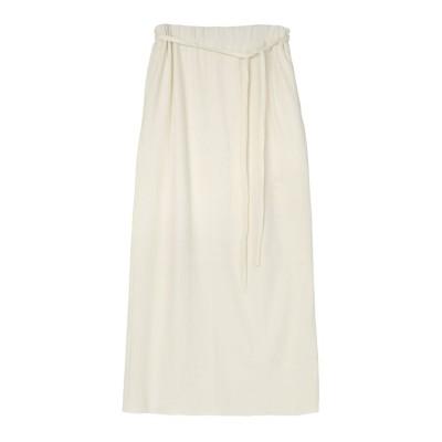 【ユアーズ】 リブナロースカート レディース オフホワイト M ur's