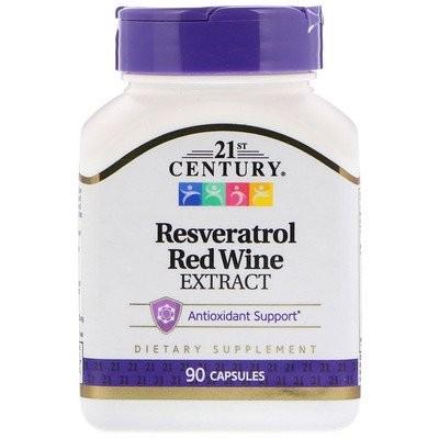レスベラトロール 赤ワインエキス, 90カプセル