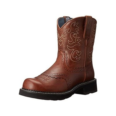 ARIAT womens Fatbaby Collection Western Cowboy Boot, Russet Rebel, 7.5 US