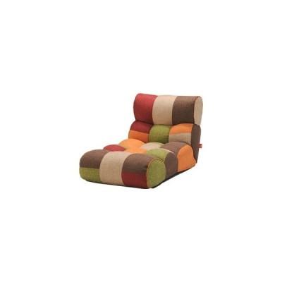 ds-2251924 ソファー座椅子/フロアチェア 【MULTI マルチ】 ワイドタイプ 41段階リクライニング 『ピグレットJrロング』