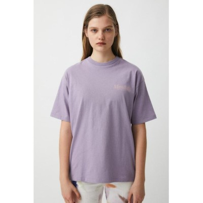【マウジー】 BEST FLAVOR Tシャツ レディース パープル FREE MOUSSY