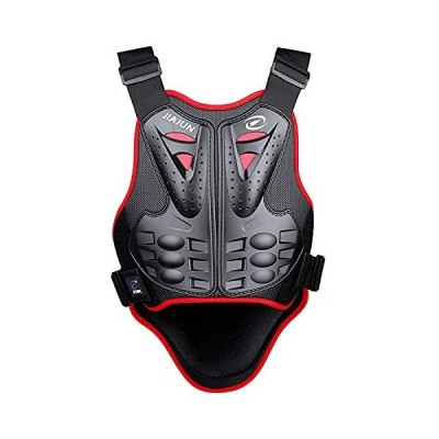 Eastshark Armor Adult Vest Riding Back Chest Protector for Dirt Bike Mountain Bike Off-Road Racing (Red, M)並行輸入品