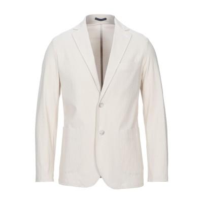 クルーナ CRUNA テーラードジャケット ベージュ 48 コットン 98% / ポリウレタン 2% テーラードジャケット