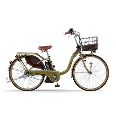 送料無料 ヤマハ(YAMAHA) 電動アシスト自転車 PAS With DX PA26WDX マットアンバー