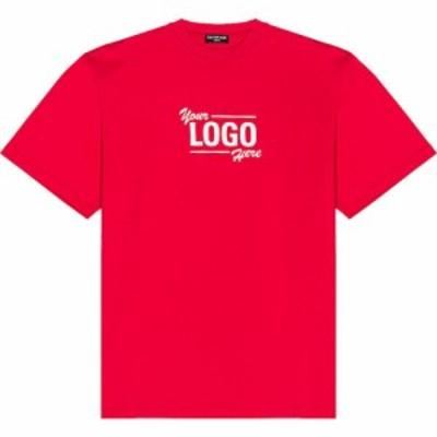 バレンシアガ Balenciaga メンズ Tシャツ トップス Boxy Tee Raspberry